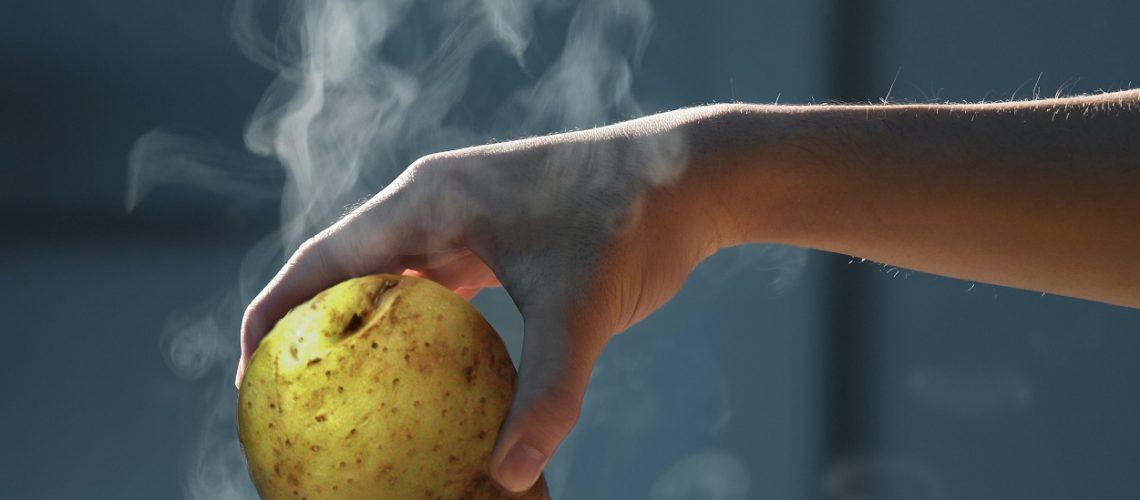 Heiße Kartoffeln. Bild via Unsplash.com